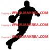 Sticker Basketteur 2
