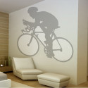 Sticker Cycliste 2