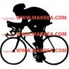 Sticker Cycliste 2
