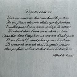 Poème Alfred de Musset - Le Petit Endroit