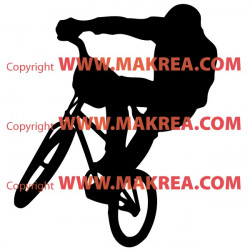 Sticker Vélo Cross