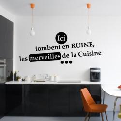 Cuisine - Ici tombent en ruine les merveilles de la cuisine ...