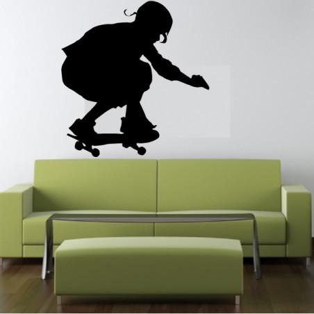 Skatteur Accroupi