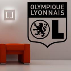 Sticker Logo Olympique Lyonnais
