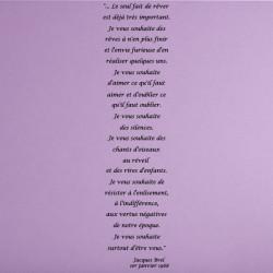 Texte Jacques Brel - Le seul fait de rêver est déjà très important ...