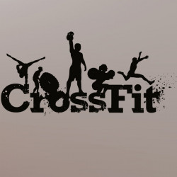 Sticker Logo CrossFit modèle 1