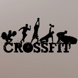 Sticker Logo CrossFit modèle 2