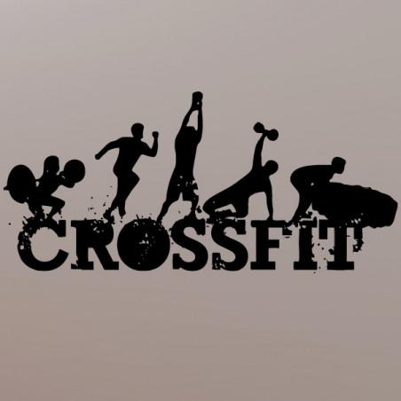 Sticker Logo CrossFit modèle 2
