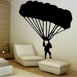 Sticker Parachutiste