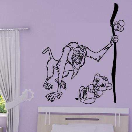 Roi Lion - Simba et Rafiki
