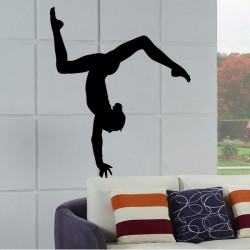 Sticker Gymnastique Poutre