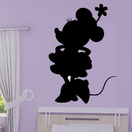 Sticker Silhouette de Minnie