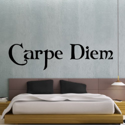 Sticker Texte : Carpe Diem