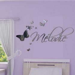 Personnalisez votre produit Sticker Texte Un petit coin de paradis - Taille - 40x27cm