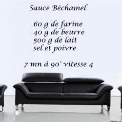 Sticker Recette Sauce Béchamel