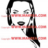Sticker Angelina Jolie