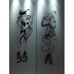 Sticker Monster High - Toralei Stripe Tenue de soirée