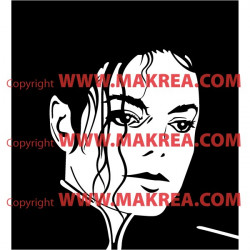 Sticker Mickael Jackson