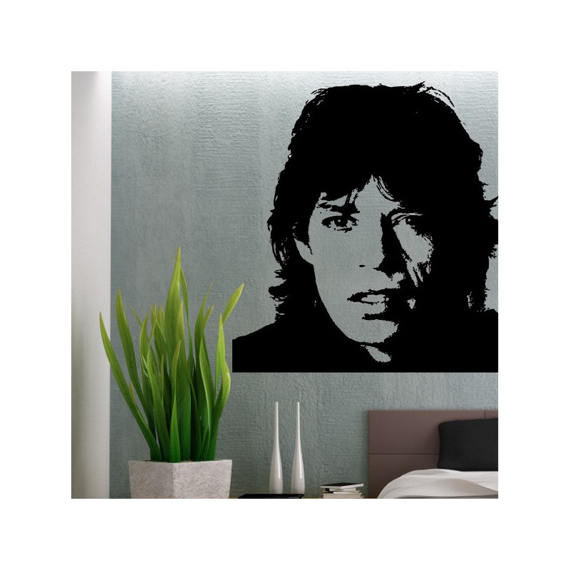 Sticker Mick Jagger