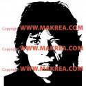 Sticker Mick Jagger