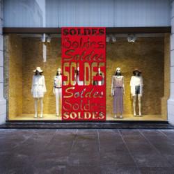vitrine Bandeau Soldes
