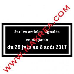 Sticker vitrine - Mentions Légales Obligatoires Soldes