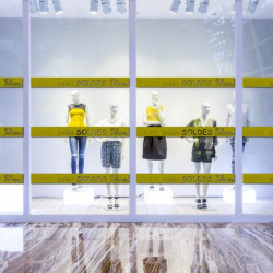 vitrine Bandeau Frise Soldes