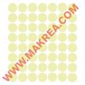 Sticker lot 56 Bulles/ ronds 7cm