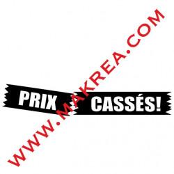 Sticker vitrine - Prix Cassés Etiquette