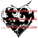 Stickers Coeur et Ornements 2
