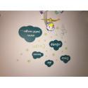 Stickers Nuages : Fais de Beaux Rêves petit ange ...