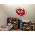 Sticker Logo Stade de Reims