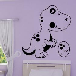 Sticker Bébé Dinosaure Oeuf