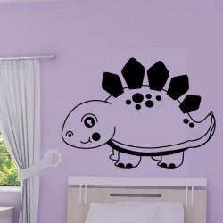 Sticker Bébé Dinosaure Stegosaure