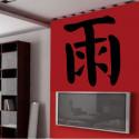 Sticker Signe Chinois Pluie