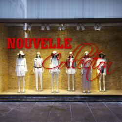 vitrine Nouvelle Collection