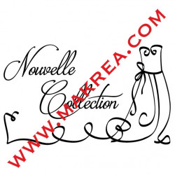 Sticker vitrine Nouvelle Collection Robe