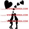 Sticker 2 amoureux
