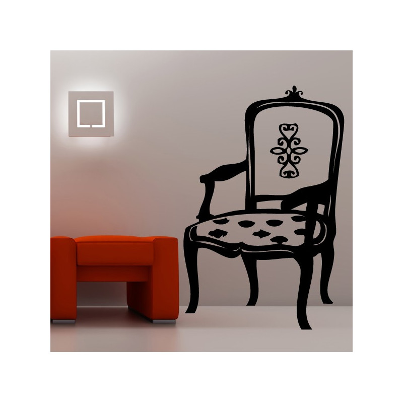 Sticker Chaise Baroque 2
