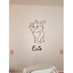 Sticker Marie la petite chatte 2 - Les Aristochats