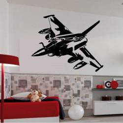 Sticker Avion de chasse - Rafale