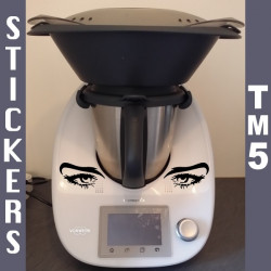 Thermomix TM5 - Yeux Femme