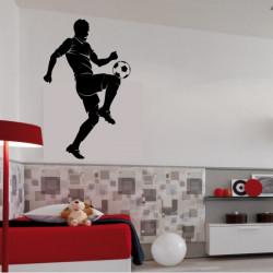 Sticker Joueur de foot