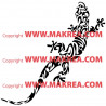 Sticker Salamandre 3