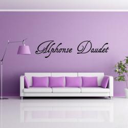 Sticker Lettrage : Alphonse Daudet