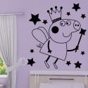 Sticker Peppa Pig - Fée