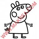 Sticker Peppa Pig
