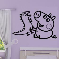Peppa Pig - George & Dinosaure Jouent