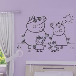 Peppa Pig - Maman Pig, Papa Pig, George et Peppa Pig