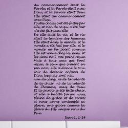 Texte : Jean 1, 1-14